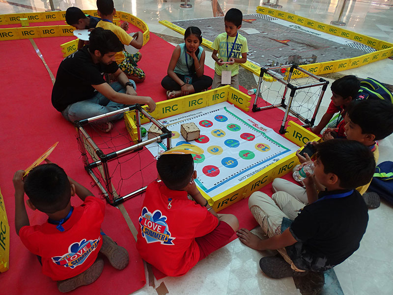 Summer Camp in Ambience Mall